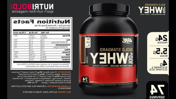 Optimum nutrition whey : coupon - enfin disponible - Top 5