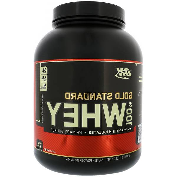 Whey optimum nutrition : prix cassé - officiel